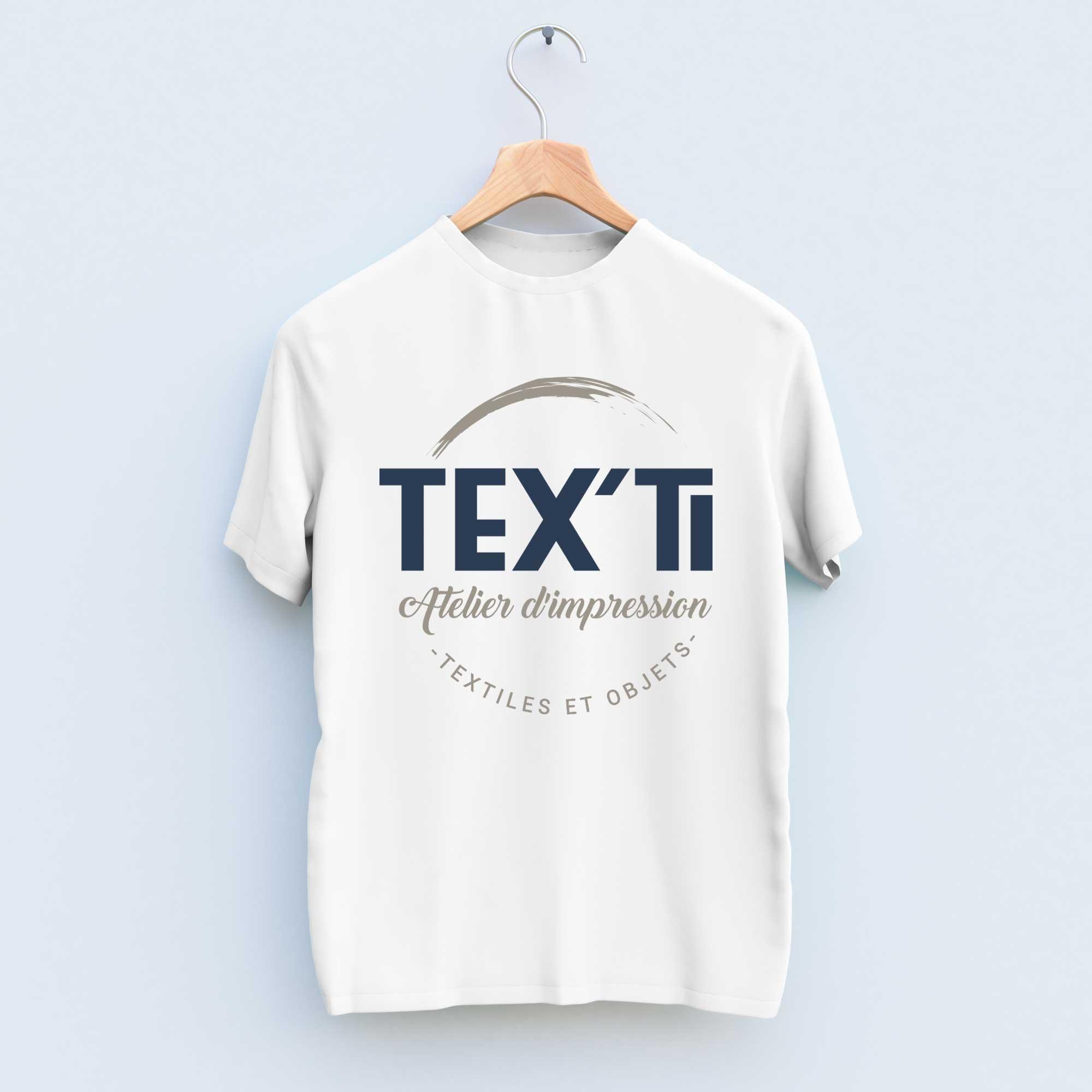 Impression personnalisée sur T-shirt par Tex'ti, entreprise d'impression personnalisée en Vendée