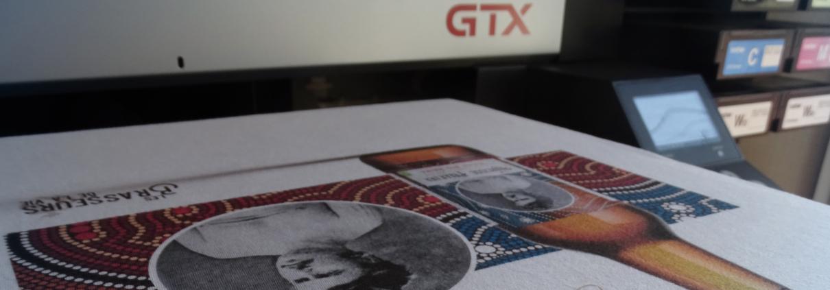 Impression textile sur GTX, atelier d'impression Tex'ti, 85800 Le Fenouiller